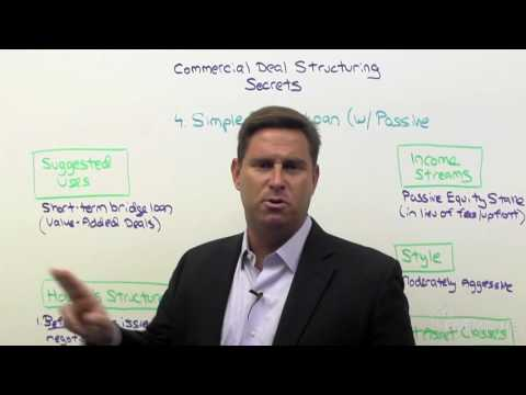 Commercial Deal Structuring 06: How To Get Equity With A Simple Bridge