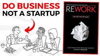 Rework Book Summary in Hindi By Jason Fried