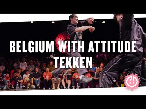 BELGIUM WITH ATTITUDE 🍑 TEKKEN • Top8 2018
