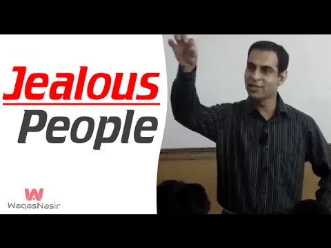 How To Deal With Jealous Or Negative People  -By Qasim Ali Shah | In Urdu