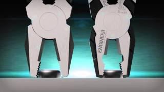 Super-advanced Combination Pliers with Screw Remover PZ-59