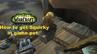 How to find a secret battle pet named Squirky in Seabreak Isle