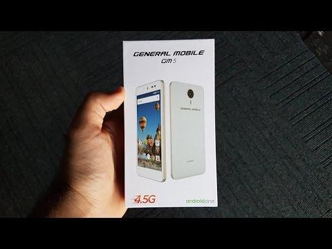 General Mobile GM5 Kutu Açılımı