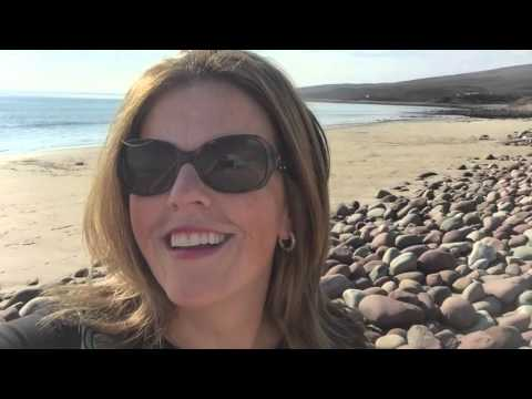 MULRANNY, WESTPORT, CO. MAYO IRELAND: BEACH AT MULRANNY PARK HOTEL!