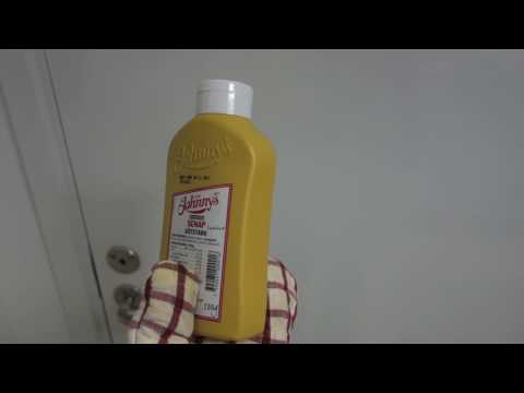 Holding a bottle of mustard for 8 hours