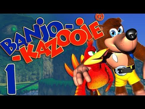 Banjo Kazooie (Blind) -1- Hambone Kablooey!!