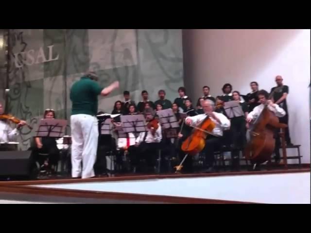 Coro  de la Universidad del Salvador  Argentina