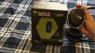 turtle beach ear force x12 amplified stereo xbox gaming headset unboxing