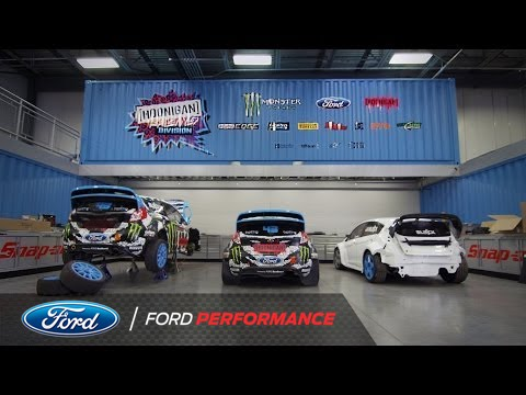 Ford racing all access hoonigan racing division hq for Ford motor company truck division