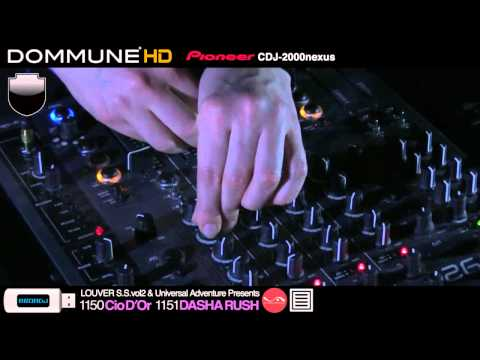 Cio D'Or, Dasha Rush Live @ Dommune (Part 3)