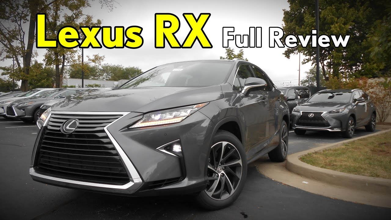 2017 Lexus Rx 350  Full Review