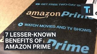 7 Lesser-Known Benefits Of Amazon Prime