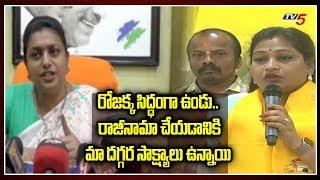 TDP Leader Anitha Challenge to MLA Roja and YCP Ministers   CM YS Jagan   Chandrababu