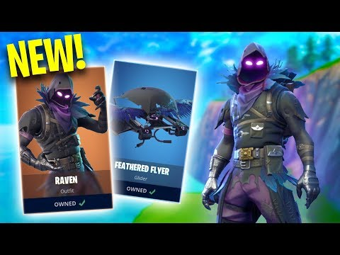 NEW RAVEN SKIN! *GRIM REAPER!* | Fortnite Battle Royale