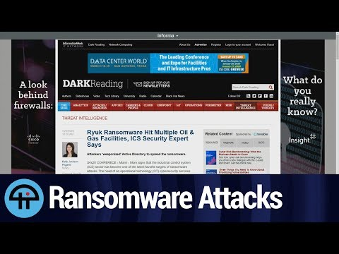 Ransomware attacks are targeting oil and gas operations on the OT side