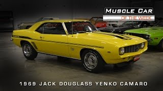 Muscle Car Of The Week Video #62: 1969 Jack Douglass Yenko Camaro