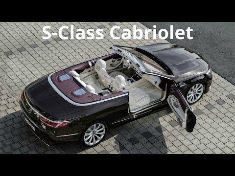 2018 Mercedes S-Class Cabriolet - Interior And Exterior