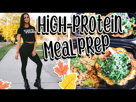 EASY HIGH-PROTEIN VEGAN MEALS | FALL INSPIRED