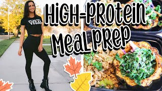 EASY HIGH-PROTEIN VEGAN MEALS   FALL INSPIRED