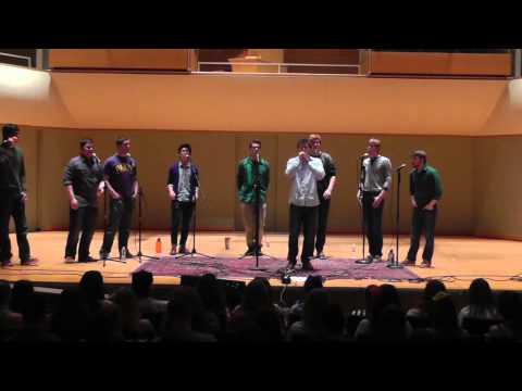 Natural Disaster by Zac Brown Band (A CAPPELLA?!) - Carleton Singing Knights