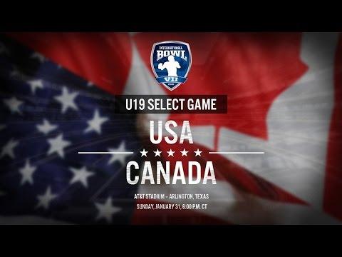 International Bowl 2016: United States U-19 Select vs. Canada