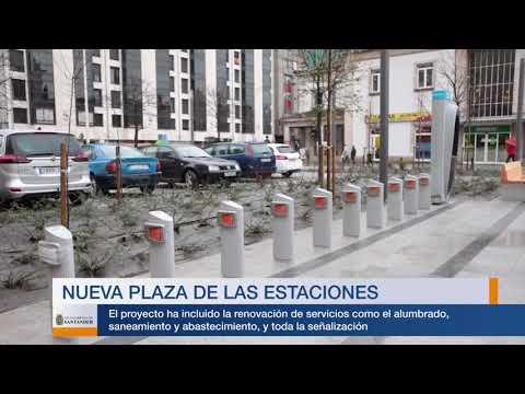 Nueva plaza de las Estaciones