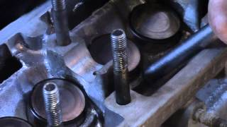 відновлення ремонт посадкових місць(колодязів) штовхачів клапанів головка ваз 2108-09-10.калина