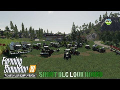 Farming Simulator 19 Platinum Expansion Short  look round |