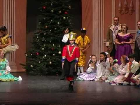 The Dance Of The Wooden Soldier And The Wooden Doll From The Nutcracker