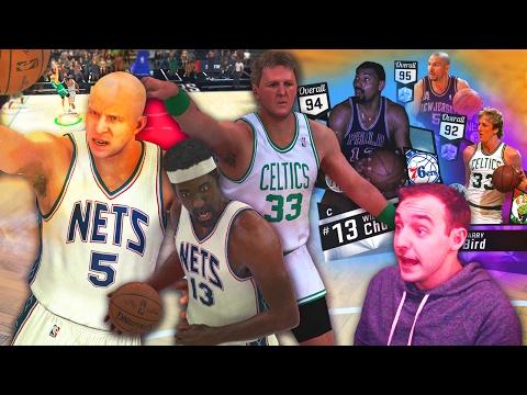 NBA 2K17 My Team DIAMOND JASON KIDD & WILT! ALL AROUND BEASTS CLOSE GAME!