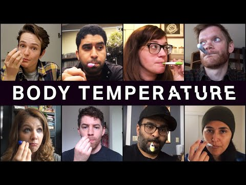 Average Body Temperatures Are Shedding