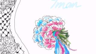 Howto draw a bouquet of flowers tutorial.