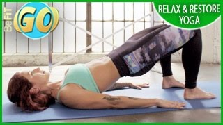 Relax & Restore Yoga Workout for Mobile: 15 Min- BeFiT GO