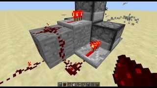 Раздатчик-пулемёт(Быстро стреляющий раздатчик) механизм Minecraft(Майнкрафт).№3