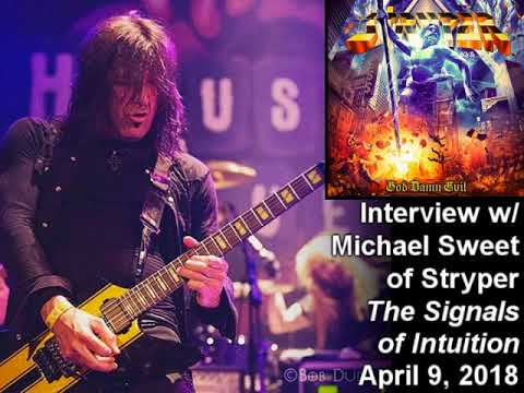 Michael Sweet (Stryper) 2018 Interview on the Signals of Intuition