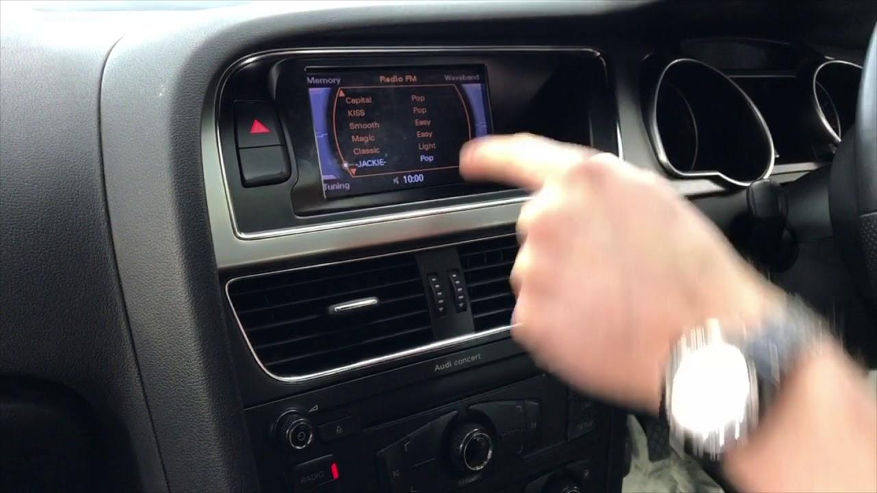 medium resolution of audi a5 no sound issue