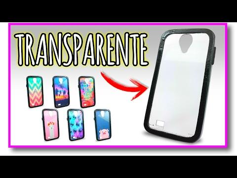 ⚠️👉 Cómo hacer una funda para el celular TRANSPARENTE con ¿CARTÓN? (Muy Fácil) 🔮  Pablo Inventos