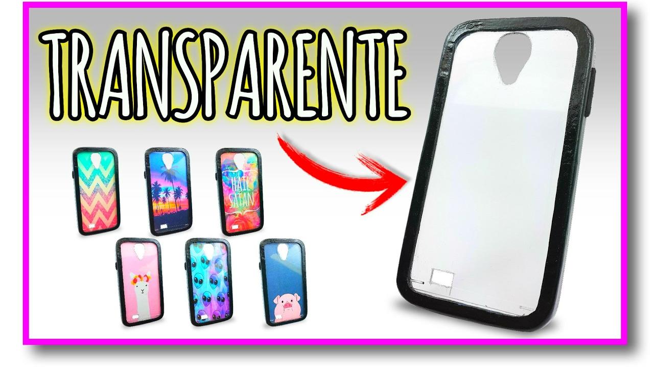 ⚠️👉 Cómo hacer una funda para el celular TRANSPARENTE con ¿CARTÓN? (Muy  Fácil) 🔮  Pablo Inventos - YouTube