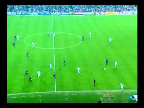 La Liga 1999 - Barça vs Madrid (Raúl hace callar al Camp Nou).