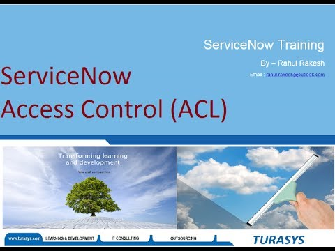 ServiceNow Access Control (ACL)