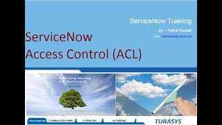 Download ServiceNow Access Control (ACL) MP3