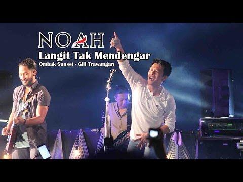 'Sunset Concert' NOAH - Langit Tak Mendengar | Ombak Sunset - Gili Trawangan - Lombok