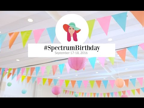 [ALY MEETS WORLD] : Spectrum Fair Manila's FIRST #SpectrumBirthday