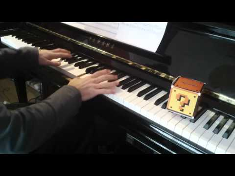 (1) 'Overworld Theme' from 'Super Mario Bros' for piano solo by Koji Kondo