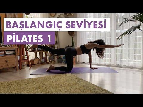 Başlangıç Seviyesi Pilates 1