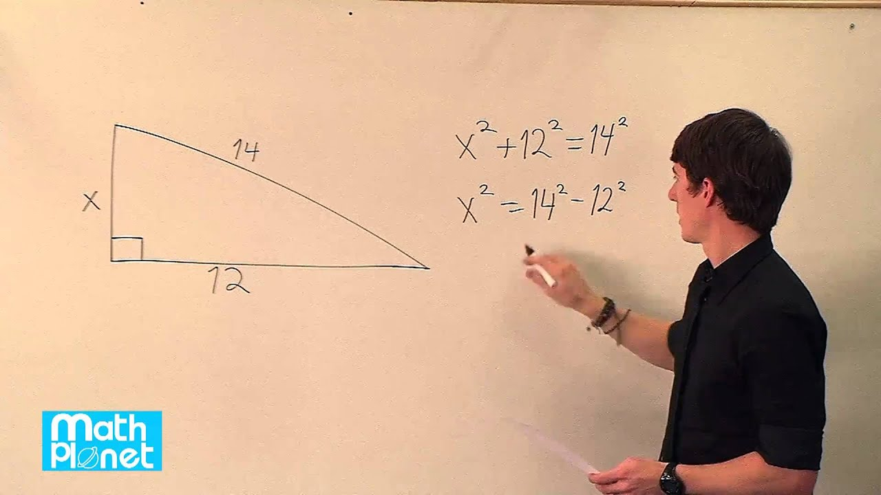 The converse of the Pythagorean theorem and special