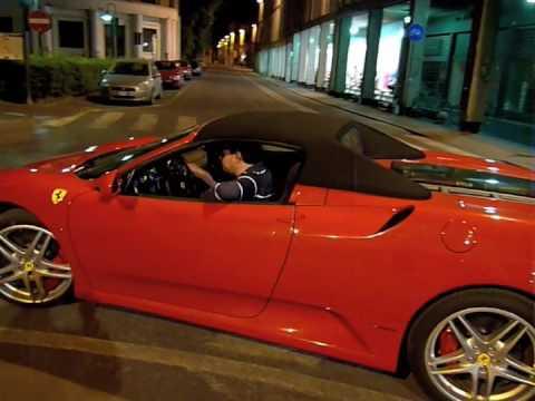 Ferrari F430 Cabrio F1 Spider - Prova Top Class International Style Magazine