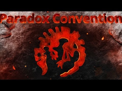 Paradox Convention 2013 Day 1!