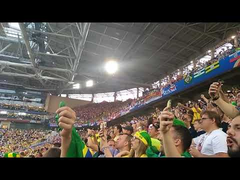 Brazil anthem 🇧🇷 Spartak stadium. World cup 2018