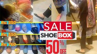 Shoe Box Sale Flat 50%, 25% Su…